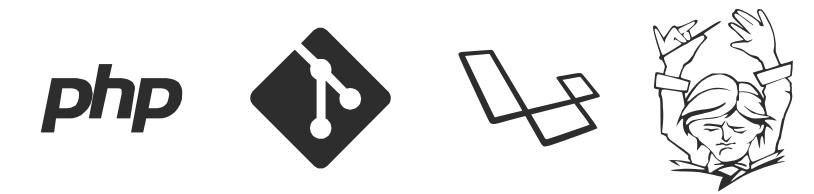 PHP, Git, Laravel, Composer